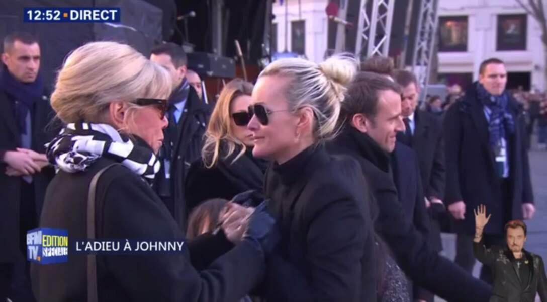 Hommage à Johnny Hallyday : Laeticia peut compter sur le soutien de la première dame