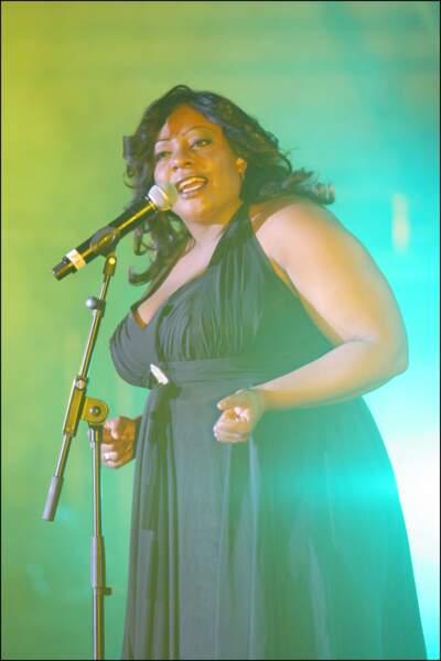 Perte de poids de stars : Miss Dominique avant