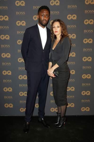 Thomas N'Gijol et sa compagne Carole Rocher