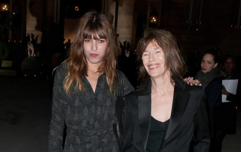 Lou Doillon et sa mère