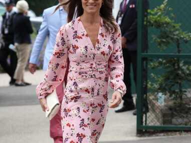 Pippa Middleton, sublime en robe à fleurs