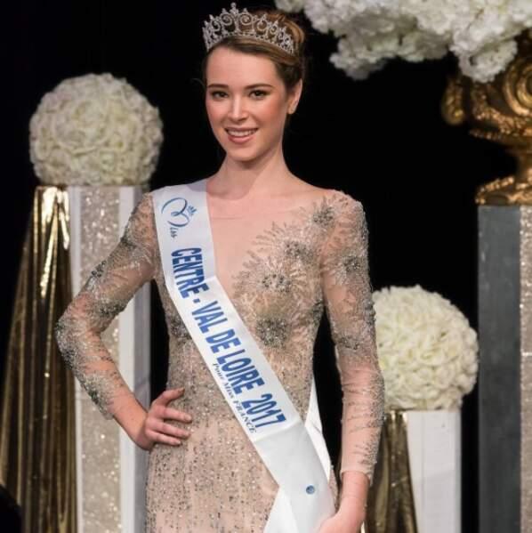 Election de Miss France 2018 - Marie Thorin est Miss Centre-Val de Loire 2017