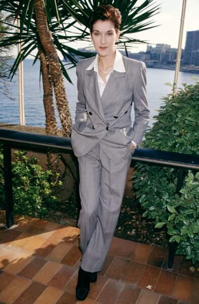 Céline Dion a 50 ans : ces 15 fois où elle était à la pointe de la mode (le look boyish)