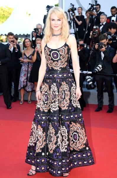 Cannes - Montée des Marches pour le 70ème anniversaire : Nicole Kidman