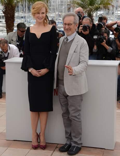 Nicole Kidman et Steven Spielberg