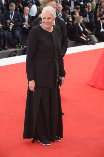 Vanessa Redgrave à la 75e Mostra de Venise, le 29 août 2018
