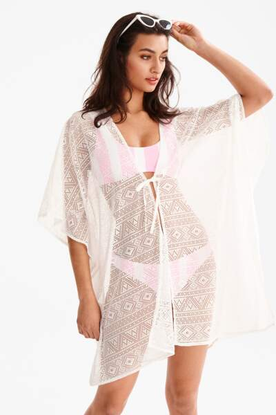 Robe de plage façon paréo, C&A, 14,90€