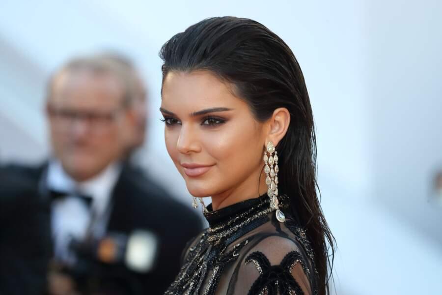 Kendall Jenner et son wet plaqué