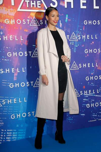 Avant-première de Ghost in the Shell : Flora Coquerel, Miss France 2014