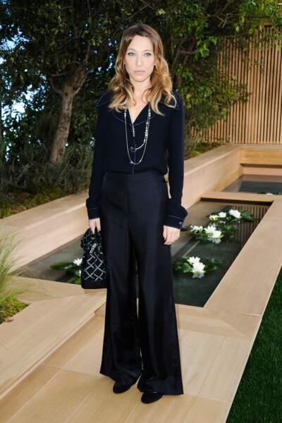 Laura Smet, parfaite en pyjama chic