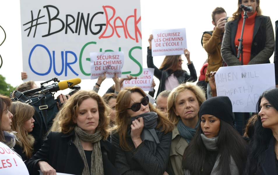 Nathalie Kosciusko-Morizet, Carla Bruni-Sarkozy, Valérie Pecresse, Mia Frye et Linda Uzan