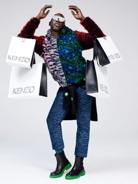 La collaboration Kenzo x H&M de 2016
