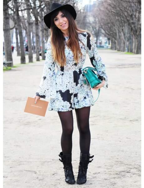 Look Marieluvpink pour le défilé Vanessa Bruno
