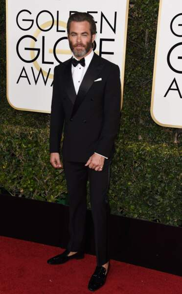 Golden Globes 2017 : Chris Pine (Star Trek)