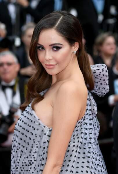 Nabilla Benattia au Festival de Cannes 2019
