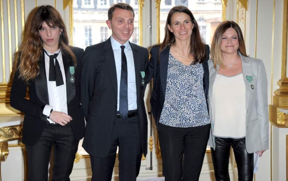 Lou Doillon, Giorgio Blanchi, Aurélie Filippetti et Charlotte Valandrey