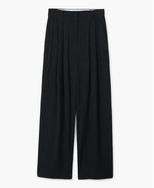 Pantalon de costume taille haute, Mango, 49,99 euros