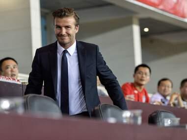 David Beckham sort de sa retraite en Chine