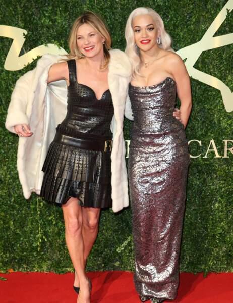 Kate s'éclate sa copine Rita Ora