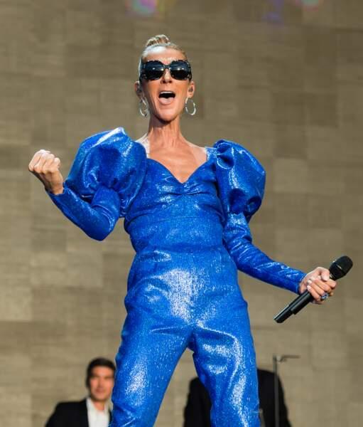 Céline Dion a fait le show pour le festival Barclaycard British organisé à Londres