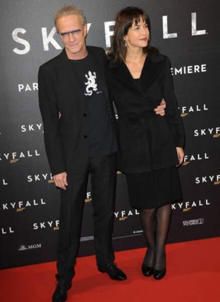 Christophe Lambert et Sophie Marceau