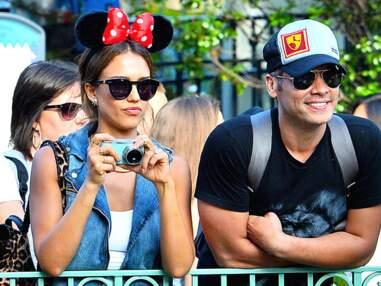 Jessica Alba fête l'anniversaire de sa fille à Disneyland