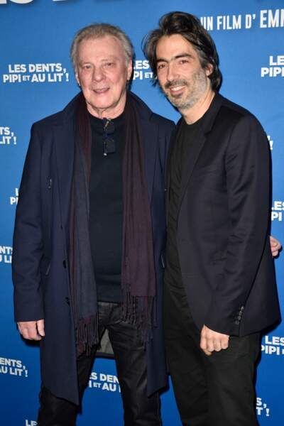 Le réalisateur Emmanuel Gilbert et Herbert Leonard