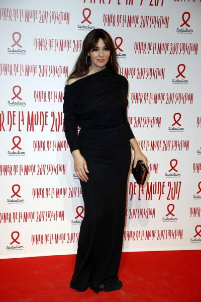 Dîner du Sidaction 2017 : Monica Bellucci