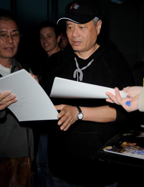 Le réalisateur taïwanais Ang Lee, trois fois oscarisé