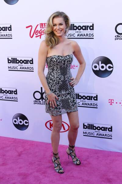 Billboard Music Awards 2016: Rebecca Romijn en Davidson Zanine