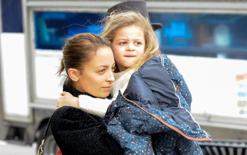 Nicole Richie et sa fille Sparrow