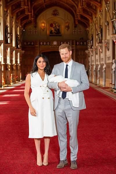 Présentation officielle du fils du Prince Harry et Meghan Markle, le 8 mai 2019