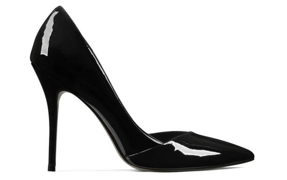 Escarpins noirs, San Marina, 102€