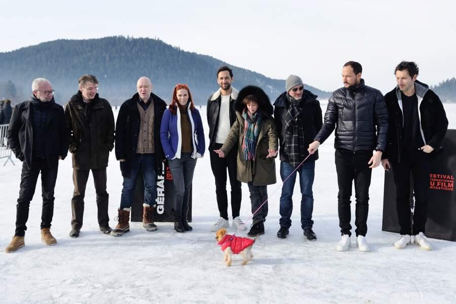 Le jury du 24ème Fantastic'Arts Film Festival de Gérardmer