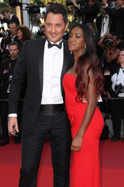 Hapsatou Sy et Vincent Cerutti au Festival de Cannes