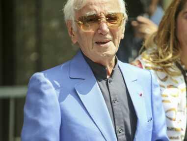 Charles Aznavour reçoit son étoile sur le Walk of Fame d'Hollywood Boulevard