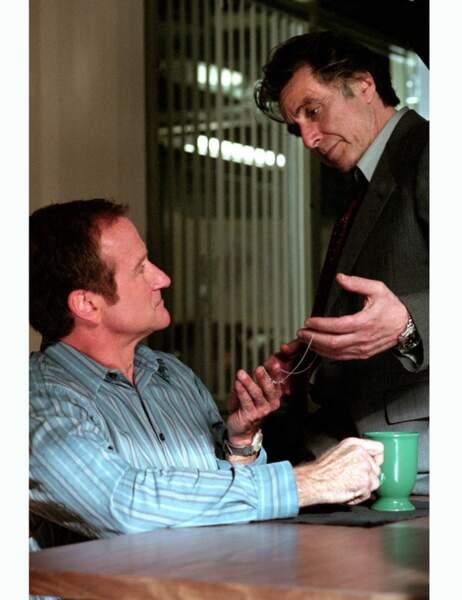 2002 : Walter Finch dans Insomnia de Christopher Nolan