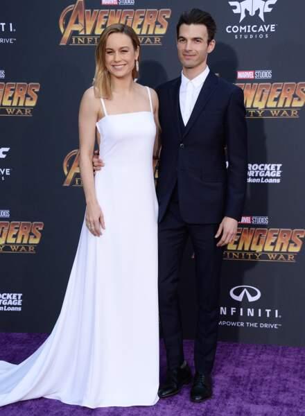 Première mondiale d'Avengers: Infinity War - Brie Larson