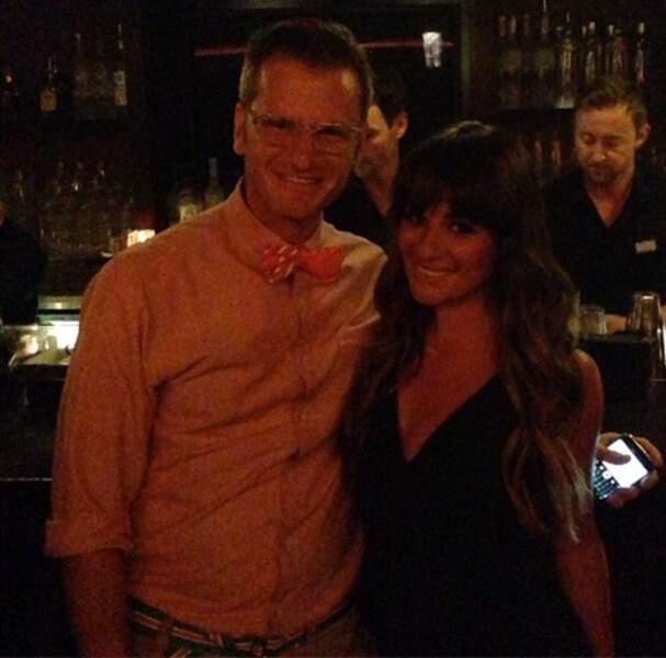 La comédienne de Glee, Lea Michele