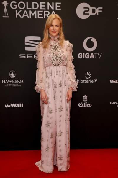 L'étrange visage de Nicole Kidman : Elle conserve ce corps svelte qu'on lui connaît