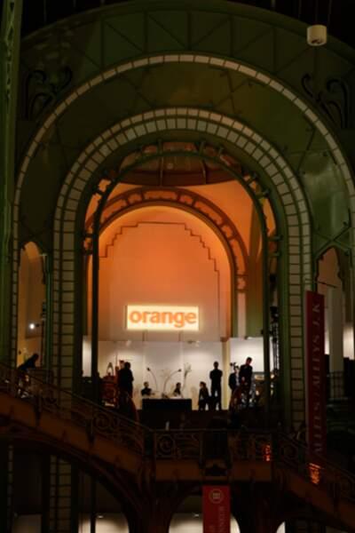 Le salon Orange a réuni de nombreux people.