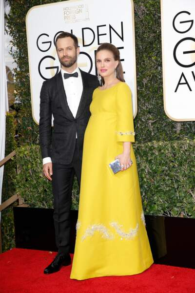 Rétro 2017 - les naissances : Benjamin Millepied et Natalie Portman : une fille, Amalia