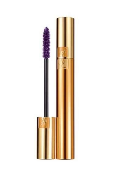 Ultra-Violet : Mascara volume effet faux cils, Violet fascinant, Yves Saint Laurent 33,50 euros