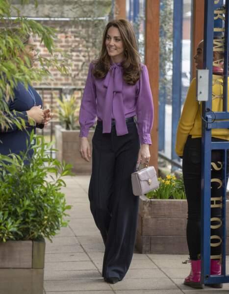 Kate Middleton au centre pour enfants Henry Fawcett de Londres