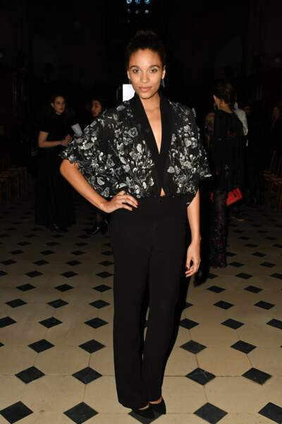 Fashion Week Haute Couture : l'actrice Stefi Celma