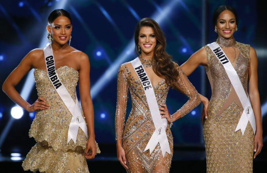 Iris Mittenaere élue Miss Univers : les 3 finalistes de l'élection