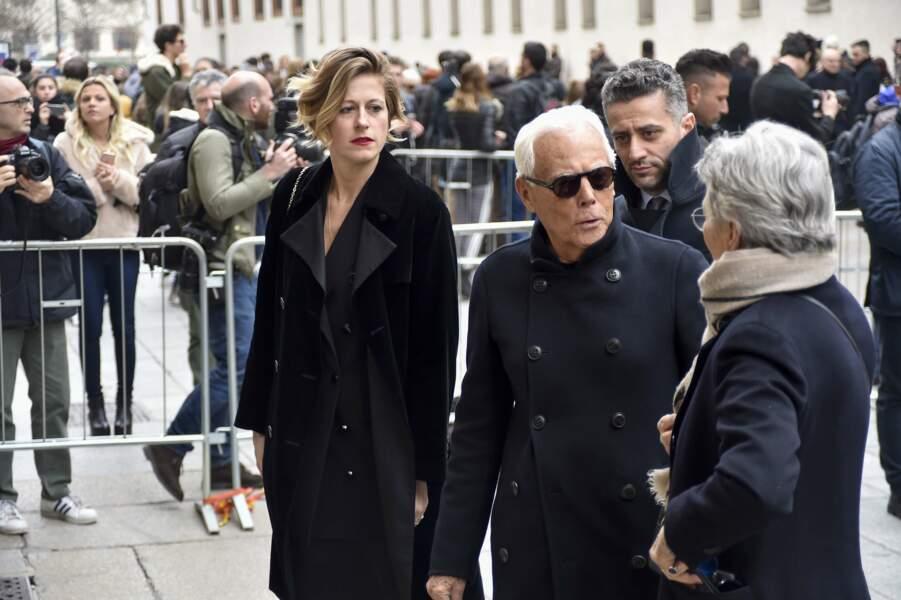 Messe hommage à Franca Sozzani : Giorgio Armani