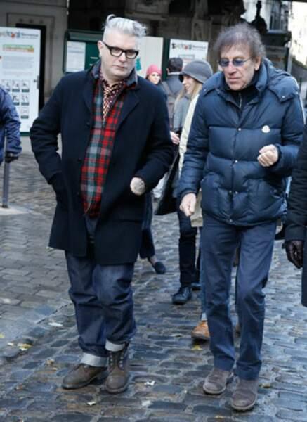 Sanseverino et Alain Souchon