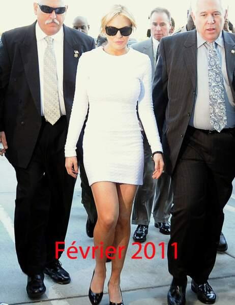 Lindsay Lohan février 2011