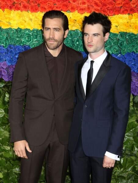 Jake Gyllenhaal et Tom Sturridge à la 73ème cérémonie des Tony Awards
